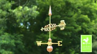 Good Directions 954p Smithsonian Arrow Weathervane   Polished Copper Hd