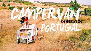 First time in a CAMPERVAN | PORTUGAL | pt.1