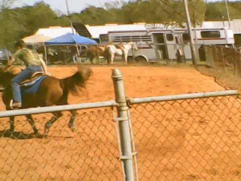 Billy And Joel Barrel Racing