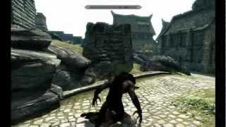 The Elder Scrolls V: Skyrim - Free Roam Part 2 (Werewolf Massacre)