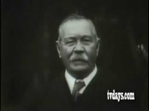 Sir Arthur Conan Doyle talks about Joseph Bell