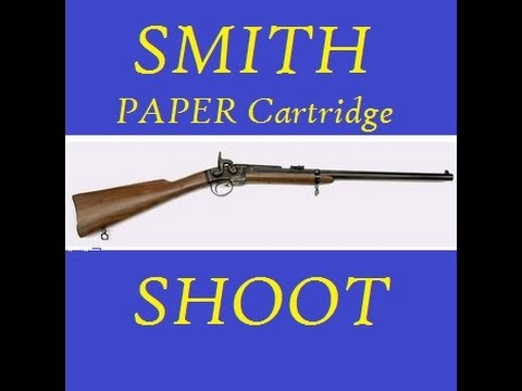Shooting PAPER Smith Carbine Cartridges