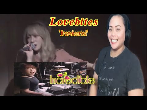 LOVEBITES||BRAVEHEARTED||REACTION BY ASIAN IN IDAHO