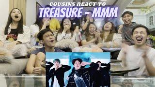 Download lagu COUSINS REACT TO TREASURE - '음 (MMM)' M/V