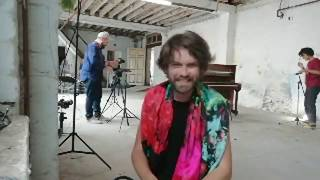 Fyfe Dangerfield performing live at the state51 Factory   Behind the scenes YouTube Videos