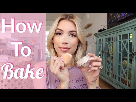 HOW TO BAKE YOUR FACE | BAKING TECHNIQUES