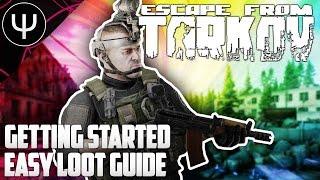 S'échapper De Tarkov — prise en main Facile Butin Guide (AK/les Jumelles de vision nocturne)!