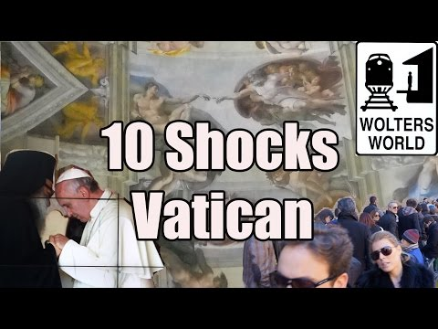Visit The Vatican - 10 Things That Will SHOCK You About Vatican City