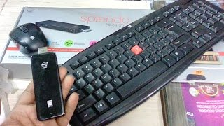 Unboxing iBall Splendo PC-On-Stick with Mouse & Keyboard