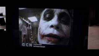 Il Cavaliere Oscuro (The Dark Knight) - Il video del Joker con un finto Batman come ostaggio
