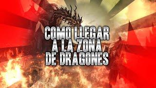 """Llegar al """" Pico del Archidragon"""" o """" Zona de los dragones """" Dark souls 3"""