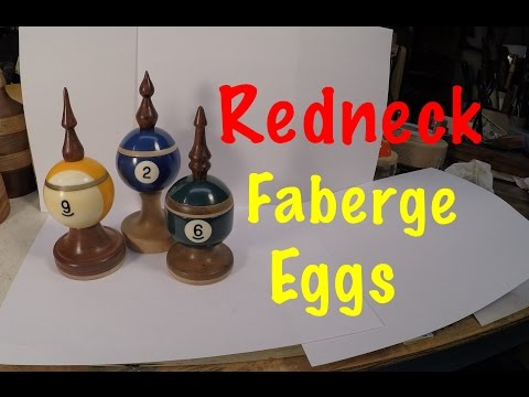 "Turning ""Generation I""  Billiard Ball Trinket Boxes on the Wood Lathe - Episode 60"