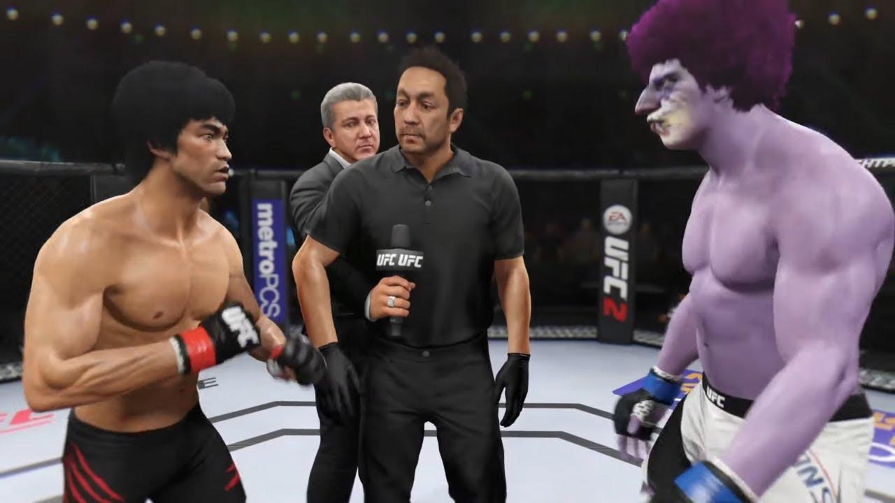 Bruce Lee vs. Purple Monster - EA Sports UFC 2