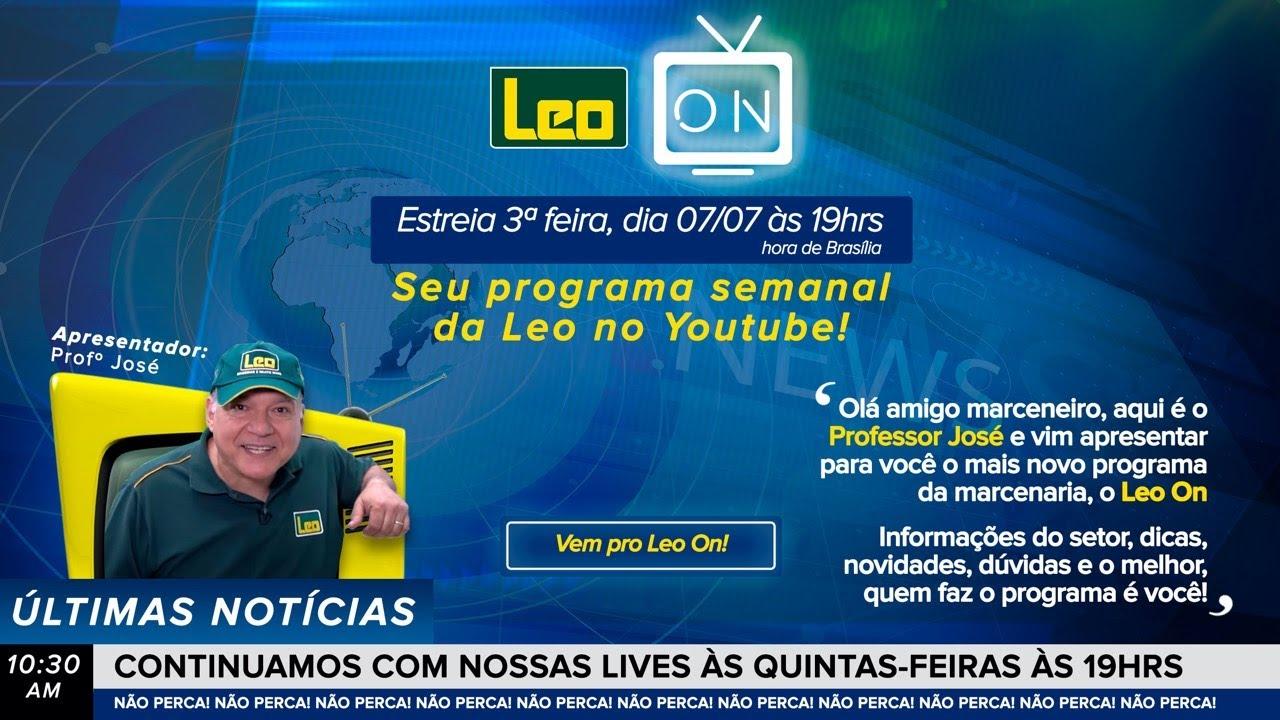 Leo ON - Seu programa semanal da Leo no Youtube!