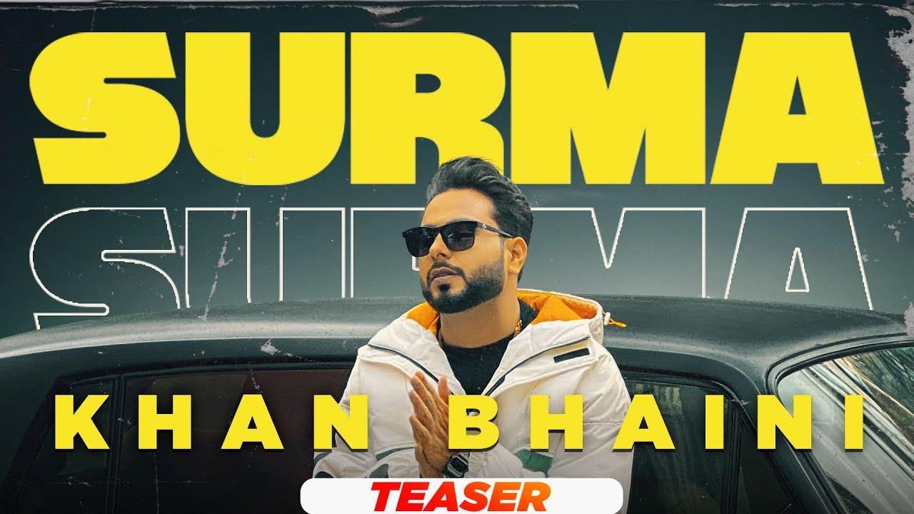 Khan Bhaini | Surma (Teaser) | Ft Raj Shoker | Latest Punjabi Songs 2021 | Speed Records