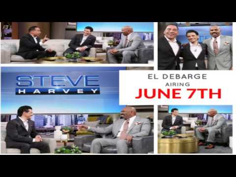 El DeBarge and Tim Storey on the Steve Harvey show June 7, 2017