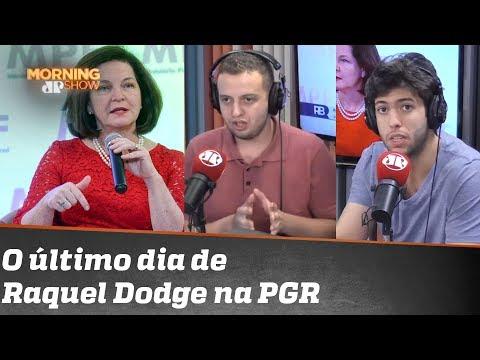 """Vini lista as últimas ações de Raquel Dodge na PGR """"Ela se apequenou"""" diz Coppolla"""