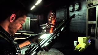 Resident Evil 6 - Chapter 5 Walkthrough Chris - Underwater Facility [HD]