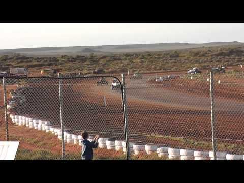 Dirt Circuit State Title Pt Augusta 7/6/15 Open Wheeler Heat 1 Round 4