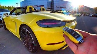 Тест: 365 л.с. PORSCHE 718 Boxster GTS за 7.2 МЛН РУБ ! Обзор конкурента BMW M2 и Audi TT-RS!