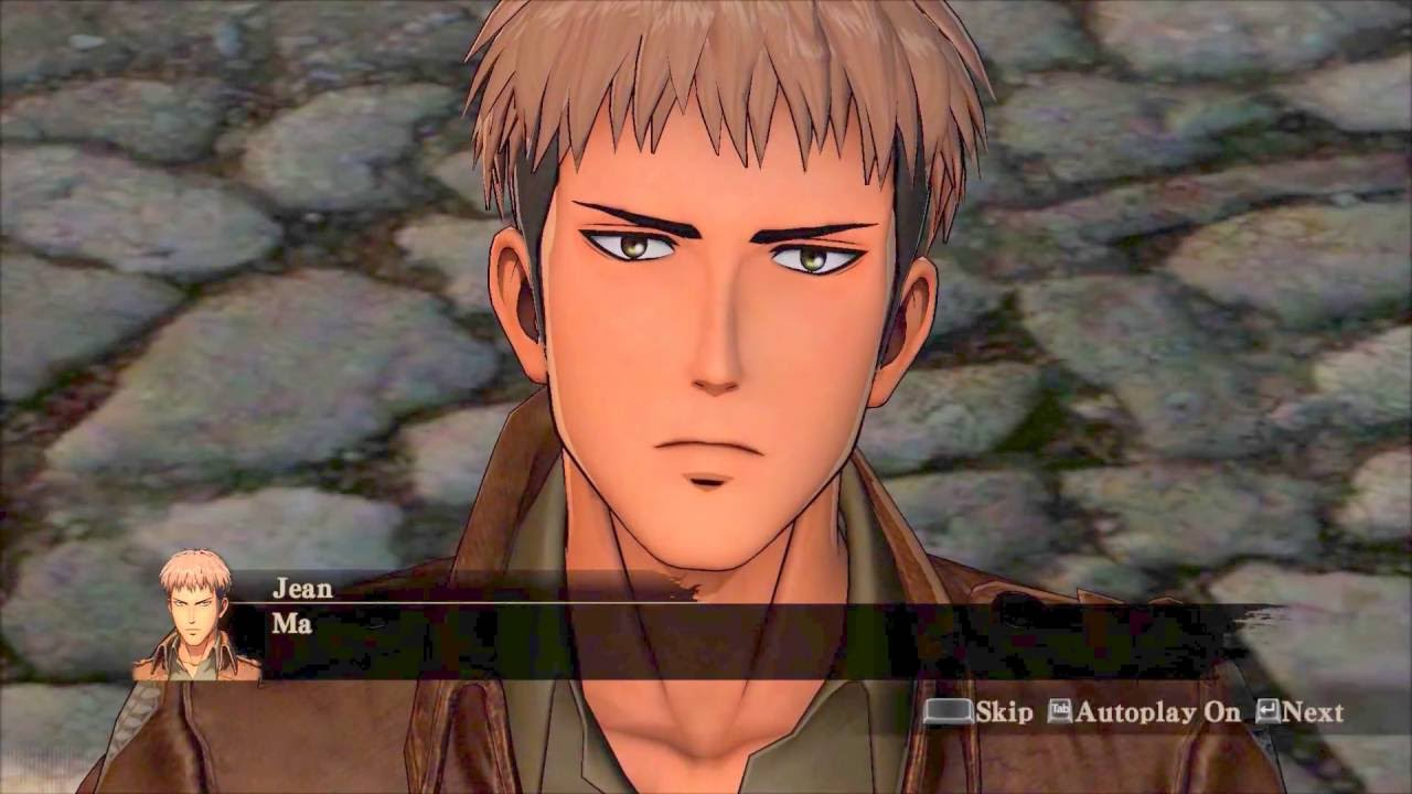 jean remembering marco attack on titan wings of