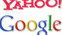 Google/Yahoo Merger logo