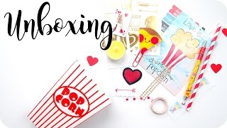 Pizza & Popcorn Party | Lollipop Box Club Unboxing