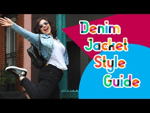 How To Style A Denim Jacket (Mini Look Book)