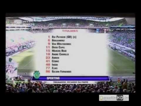 Sporting - 1 x Olympiakos - 0 de 2012/2013 Particular