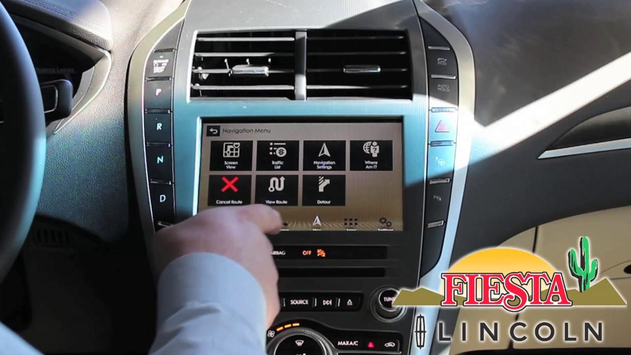 2007 lincoln mkz navigation system