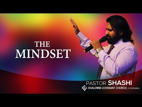 The Mindset-Full Sermon | Pastor Shashi Kiran | Core Media Intl