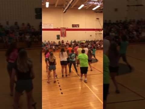 8th grade flash mob Sauquoit Valley Middle School