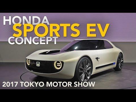 Honda Sports EV Concept First Look - 2017 Tokyo Motor Show