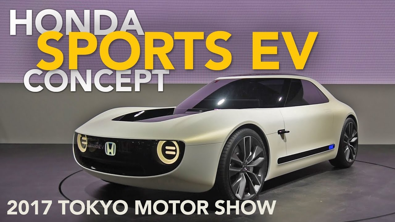 Honda Sports Ev Concept First Look 2017 Tokyo Motor Show