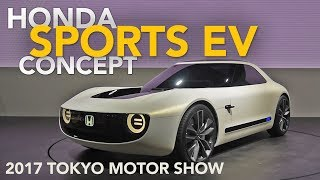 Honda Sports EV Concept First Look - 2017 Tokyo Motor Show