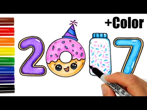 How To Draw Color As Co Es Donut Sprinkles
