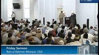 Urdu Khutba Juma 22nd June 2012 - Islam Ahmadiyya