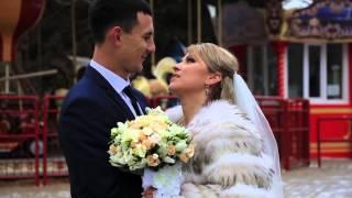 Свадебное видео,молодожены,Харьков зима 2016