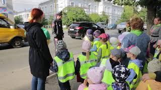 Урок-практикум по обучению детей правилам дорожного движения МДОУ №1