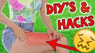 10 SUMMER HACKS & DIY IDEEN! Mach' das BESTE aus deinem SOMMER - TheBeauty2go