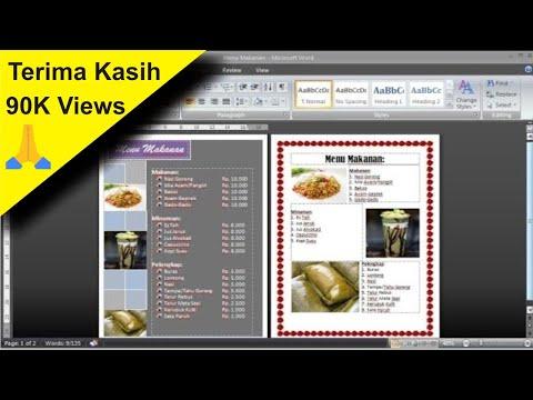 #tutorial-cara-membuat-daftar-menu-makanan-di-micosoft-word-•-simple-news-video
