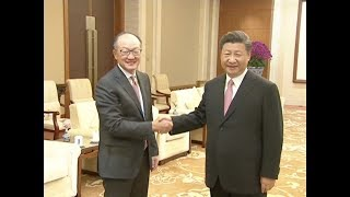 China, World Bank Vow to Enhance Cooperation under Belt and Road Framework