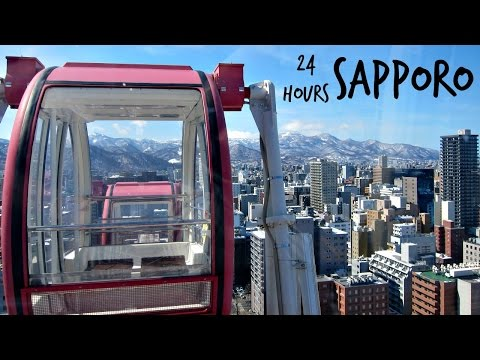 24 HOURS | Exploring Sapporo [Japan]