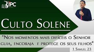 CULTO SOLENE - 11/10/2020