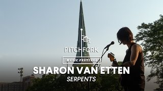 "Sharon Van Etten performs ""Serpents"" - Pitchfork Music Festival 2014"