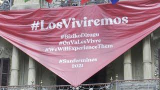 Pamplona vive su 6 de julio más extraño sin chupinazo de Sanfermines