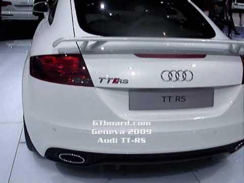 Geneva 2009: Audi TT-RS