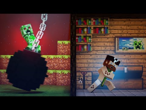 "Thumbnail: ♫ ""Wrecking Mob"" - A Minecraft Parody of Miley Cyrus' Wrecking Ball"
