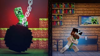 ♫ 'Wrecking Mob' - A Minecraft Parody of Miley Cyrus' Wrecking Ball