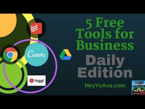 25: Top 5 Free Tools for Business I Use on a Daily Basis - The Candid Cashflow Podcast | Virtual...